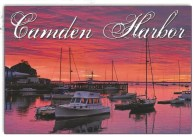 From Sheila--Sunrise on Camden Harbor, Maine